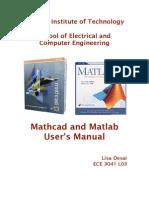 Mathcad_Matlab_Manual