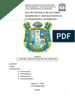 ENSAYO DE HISTORIA DE DERECHO