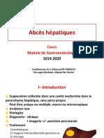 COURS MODULE GASTRO Abcès  Hépatiques 05 Février 2018 dr chihaoui (1).pdf