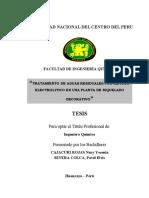 TRATAMIENTO DE AGUAS RESIDUALES POR METODO ELECTROLITICO EN UNA PLANTA DE NIQUELADO DECORATIVO