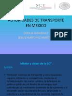 AUTORIDADES DE TRANSPORTE EN MEXICO