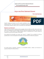 Como Limpiar Mi Pc Con Free Internet Eraser
