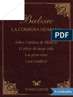 Sobre Catalina de Medicis  otras historias - Honore de Balzac
