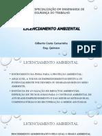 Apresentação_Licenciamento Ambiental