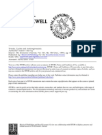 Trends, Cycles and Autoregressions