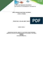 Tarea 1- Identificar fuentes de contaminación y sus impactos