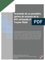 Formación de un portafolio óptimo de acciones de la BVC utilizando el modelo Treynor Black
