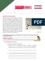 FICHA DE TRABAJO SEMANA3-1 5° SECUNDARIA COMUNICACIÓN