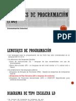 Lenguajes de Programación (PLC) LD1