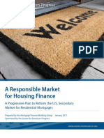 A Responsible Market for Housing Finance