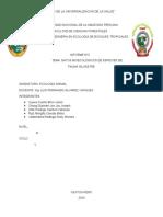 DATOS BIOECOLOGICOS DE FAUNA SILVESTRE JUEVES