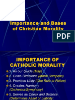 2.1 Importance and Basis or Sources of Christian morality - edited 2020