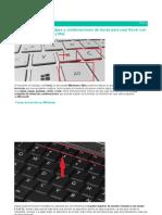Atajos de Tecaldo en Windows y Mact