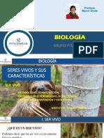 Anual San Marcos PPT BIOLOGÍA Sesión 1 SER VIVO