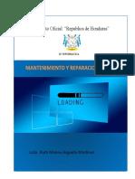 Cuadernillo I Parcial - II Semestre - Mantenimiento y Reparacion II