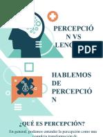 Percepcio vs lenguaje