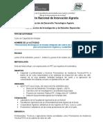 PROGRAMA - Capacitaciones - Café