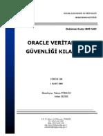 UEKAE BGT-5001 Oracle Veritabanı Güvenliği Kılavuzu