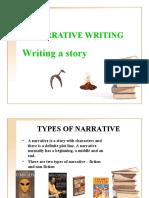 NARRATIVE WRITING 1
