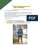 Instrumentistas Grupo 2_  HEAL THE WORLD
