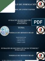 EXPOSICION DE NORMAS DE BIOSEGURIDAD - copia