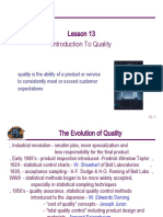 13 Introduction to Quality
