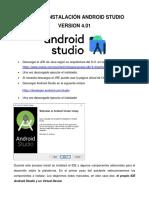 Manual Instalacion Android Studio 4.0.1 para Windows