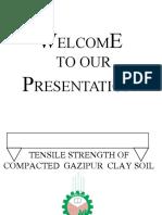 Tensile strength of soil