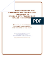"""Abberent Practises"" of the Kansas City Prophets by Ernie Gruen"