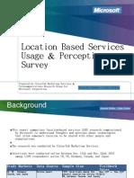 LBS Usage and Perceptions Survey Presentation