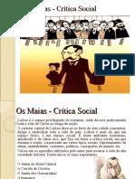 Os Maias - Crítica Social