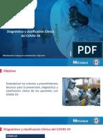 13. Diagnóstico y clasificación Clínica del COVID-19. Corregido