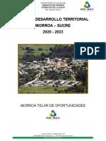 plan de desarrollo de Morroa