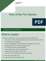 FIRE WARDEN PowerPoint presentation