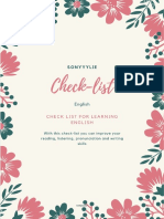 sonyyylie Check list for learning english.pdf
