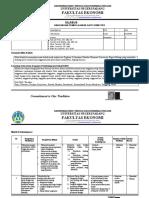 1. Silabus Penganggaran D3 Akuntansi