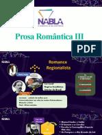 1EM prosa romântica III