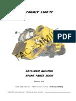 carmix-3500TC-parts-catalog