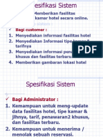interface reservasi hotel