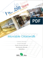 Hufcor Glasswall Partition Catalogue