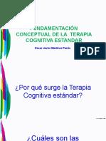 FUNDAMENTACIÓN CONCEPTUAL DE LA  TERAPIA COGNITIVA ESTANDAR - copia (2) - copia