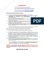 Comunicado de fecha de presentación de Proyecto Productivo 2020-I (1)