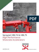 Sprayset-Brochure