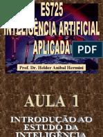 AULA 01 - Introdução ao Estudo de IA