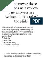 Statistics-Questions