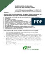 Documenti Domanda ERP