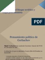 01-Disolución del bloque soviético y  etapa poscomunista