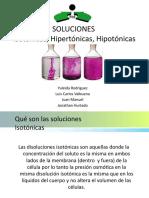 SOLUCIONES hipotonicas