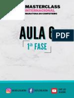 1ª fase - AULA 6
