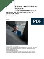 entrevista sérgio magalhães revista epoca
